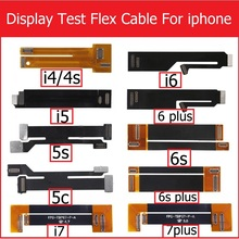 3D touch screen & lcd display test Extended flex cable for iphone 4 4s 5 5s 5c SE 6 6S 7 PLUS Digitizer tester flex ribbon Cable