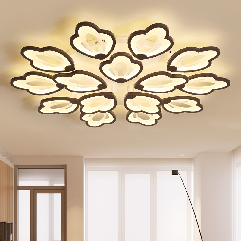 New LED Chandeliers For Living Room Bedroom Diningroom Fixture Dimming Modern Chandelier Ceiling lamp home lighting luminariasNew LED Chandeliers For Living Room Bedroom Diningroom Fixture Dimming Modern Chandelier Ceiling lamp home lighting luminarias