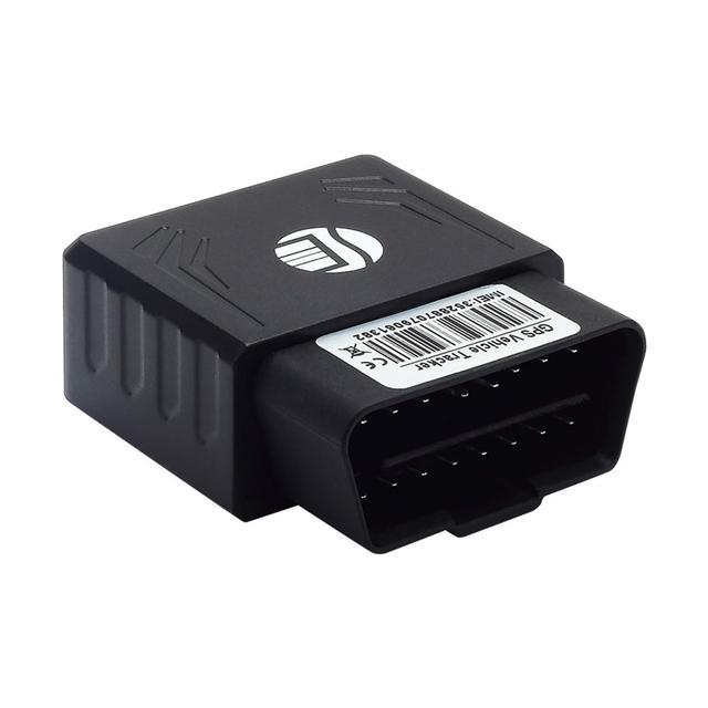 سيارة OBD GPS المقتفي التوصيل والتشغيل متعقب السيارات OBD GPS الوقت الحقيقي محدد مع SOS إنذار الجغرافية السياج الحرة الشحن بالجملة
