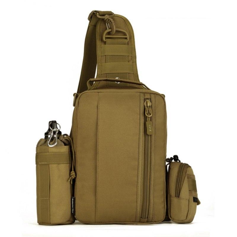 Prix pour Multifonction Extérieure 1000D Nylon Militaire Épaule Tactique Sac À Dos Sac de Taille Camping Voyage Randonnée Poitrine Sac