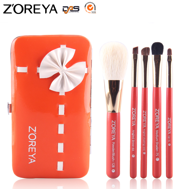 ZOREYA Hot Sale 5pcs Makeup Brushes Professional Foundation Powder Classic Soft Cosmetic Tools Make Up Brush Pincel Maquiagem 1pcs makeup brushes foundation flawless powder puff blusher cosmetic cleaning tools for makeup brush maquiagem soft brushes