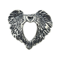 Diy Jewelry 925 Sterling Silver Eagle's grace bead For Jewelry Making Charm Fits Troll Bracelet&Necklace free shipping