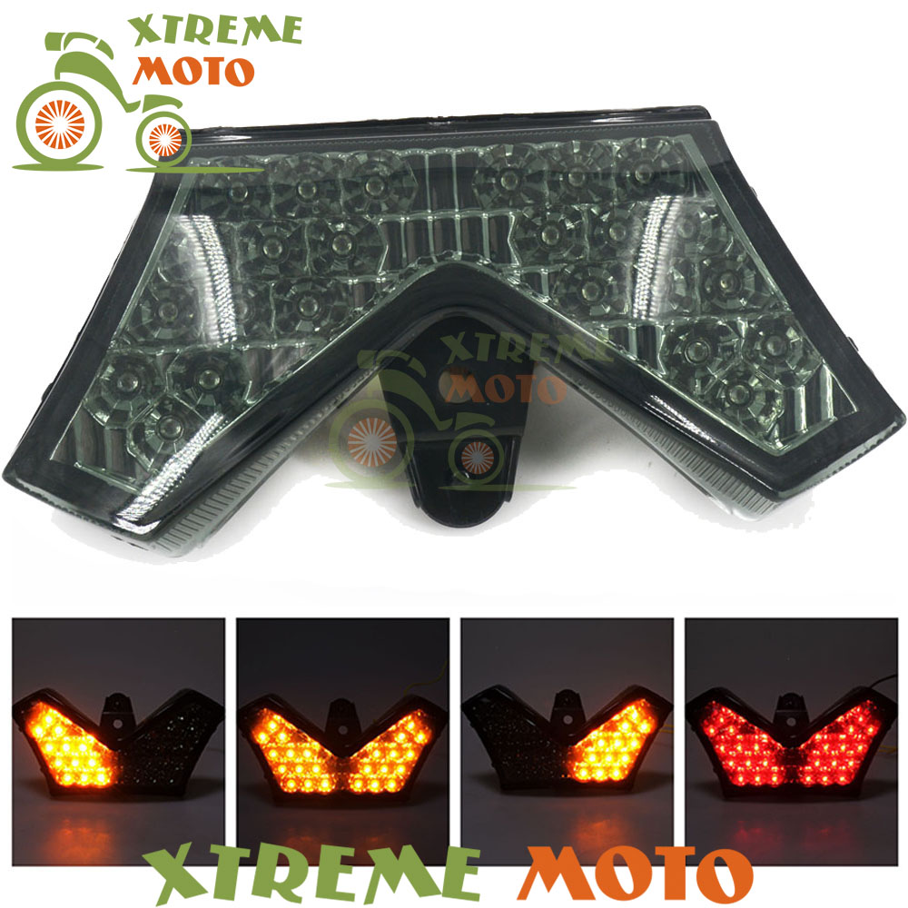Motorcycle Led Rear Turn Signal Tail Stop Light Lamp