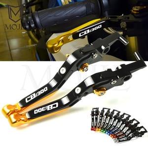 For Honda CB1300 CB 1300 X4 SC38 1997-1999 1998 Motorcycle CNC Adjustable Folding Extendable Brake Clutch Levers(China)