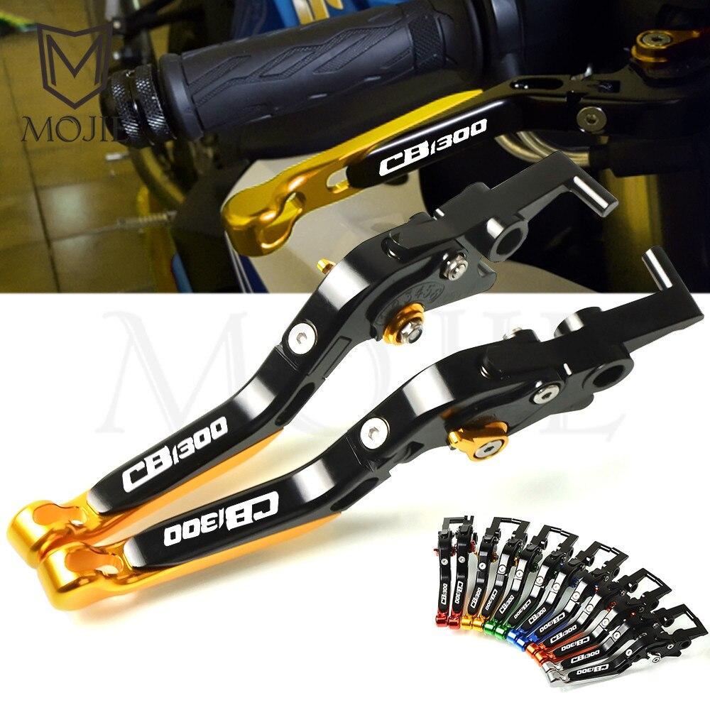 Pour Honda CB1300/ABS 2003-2010 CB1300 X4 SC38 1997-1999 1998 moto CNC réglable pliant extensible freins embrayage leviers