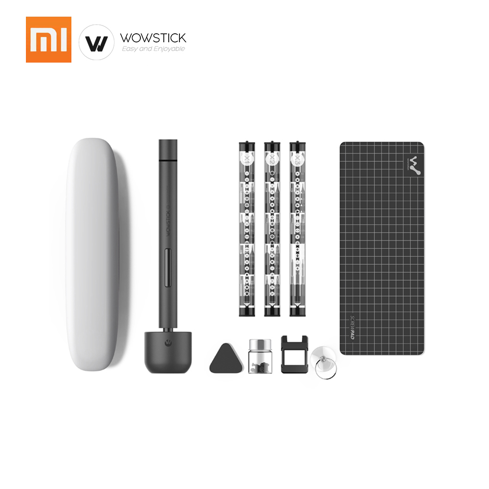 Xiaomi Wowstick 1F Pro 56Bits Electric Screw Mi driver Precision Cordless Alloy Body LED Light Lithium