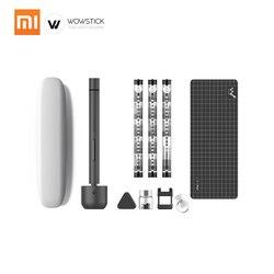 Xiao mi Wowstick Pro 56 бит Электрический винт mi драйвер Precision Аккумуляторный сплав тела светодиодный свет литиевая Батарея Мощность инструмент для р...