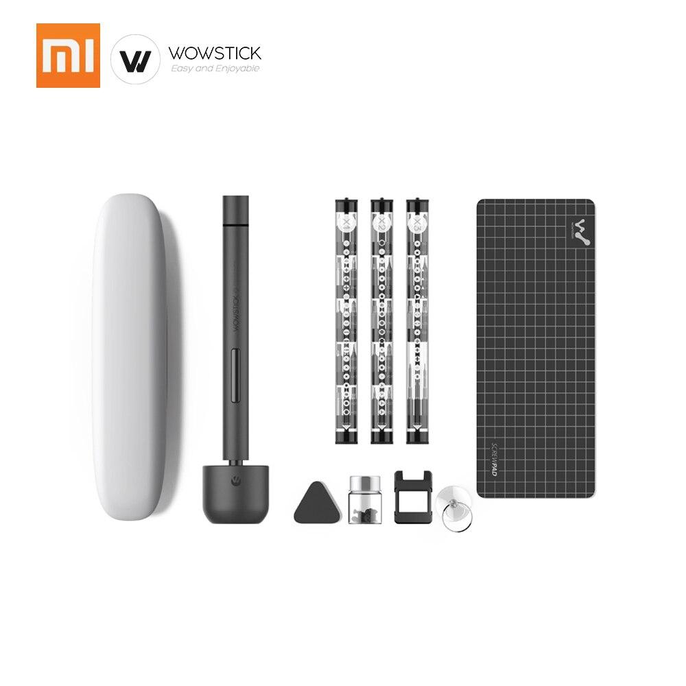 Xiaomi Wowstick 1F Pro 56 Bits tornillo eléctrico Mi driver precisión inalámbrico aleación cuerpo luz LED batería de litio herramienta de reparación de energía