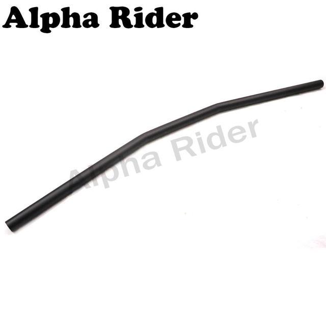 "Frosted Black Motorcycle Drag Bar 32"" for Honda Yamaha Kawasaki Suzuki Chopper Bobber Cafe Racer KTM Ducati 7/8"" 22mm Handlebars"