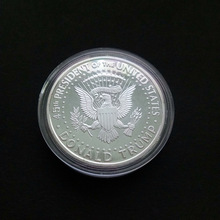 President Donald Trump Inaugural Golden eagle Commemorative Novelty Coin Hot America 45th