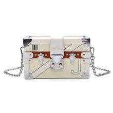 Classic Fashion Design Style Printing Box Clutch Bag Handbag Ladies Chain Shoulder  Bag Purse Flap Handbag 189189f203bd5