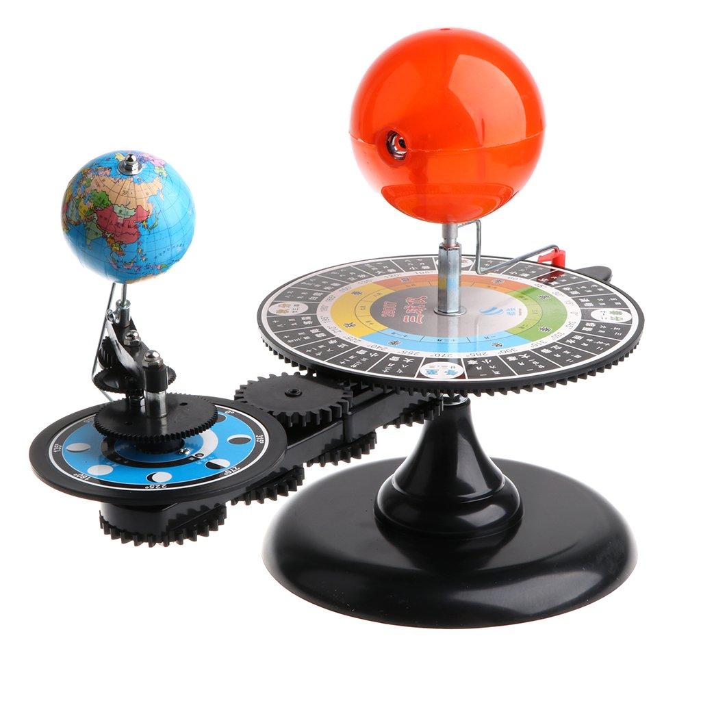 Modèle de système solaire bricolage assemblé Science apprentissage modèle de planétarium éducatif jouets cadeau d'anniversaire pour enfants enfants en bas âge