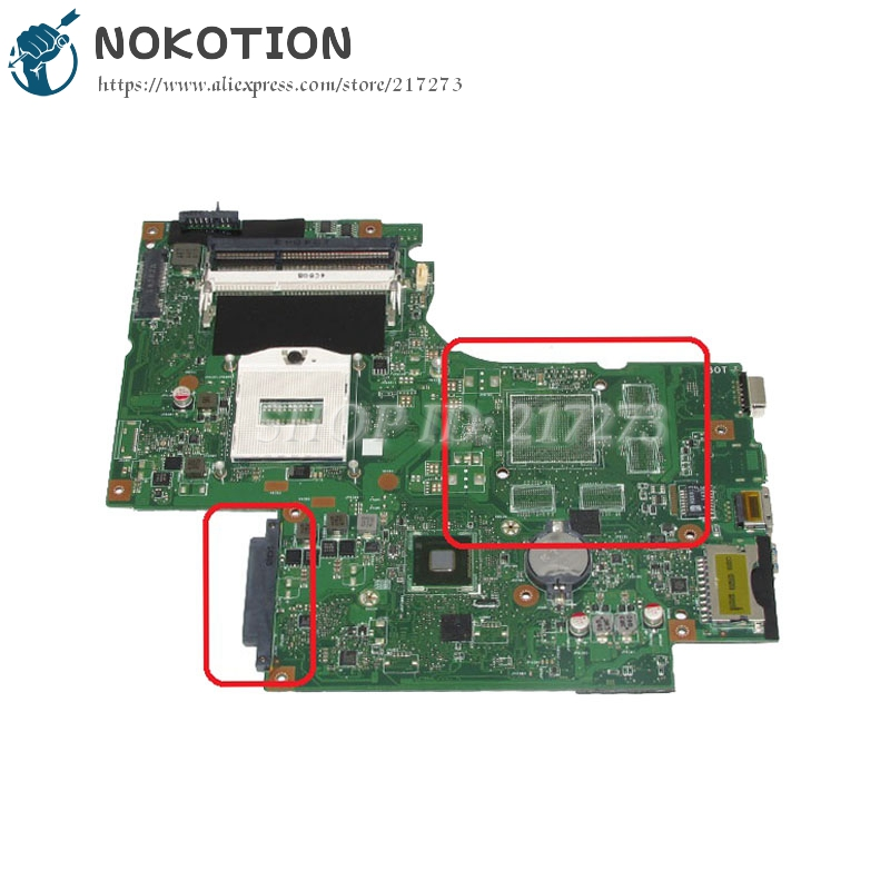 NOKOTION DUMBO2 MAIN BOARD REV2.1 For Lenovo IdeaPad G710 Z710 Laptop Motherboard HM86 UMA DDR3L