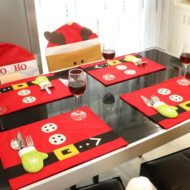 Estera de tabla coasters navidad de navidad decoraciones para el ...