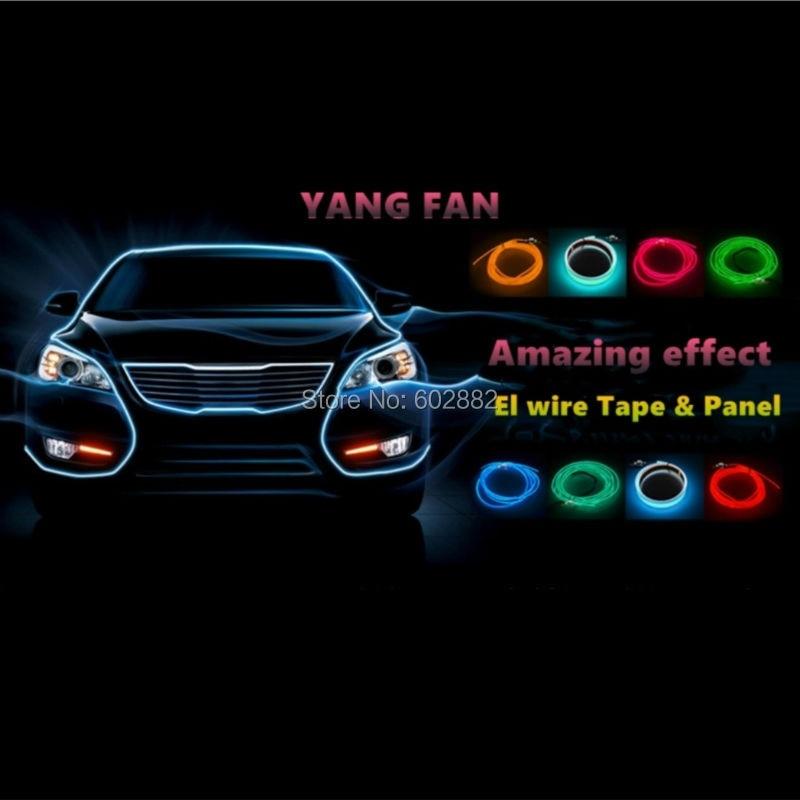 tira led, 1 metro EL Strip, cinta EL (7 colores disponibles) + - Iluminación LED - foto 6