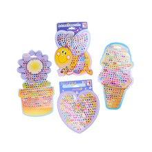 4 pçs/set bonito criança menina cristal vara brinco adesivo brinquedo saco corpo festa jóias