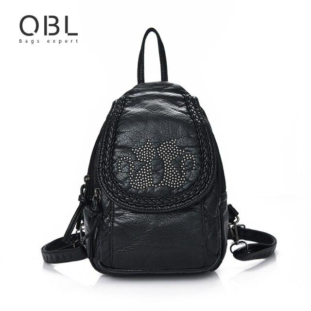 Mini Small Backpack Women Bag Cat Black Travel School Bags for Teenage Girls Female Mochilas Mujer Feminina Sac a Dos Femme W672