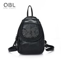 Mini Small Backpack Women Bag Cat Black Travel School Bags For Teenage Girls Female Mochilas Mujer