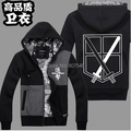Hot Anime Attack On Titan Corps Hoodies Sweatshirts Coat Cosplay Costume Spring Autumn For Men New Style