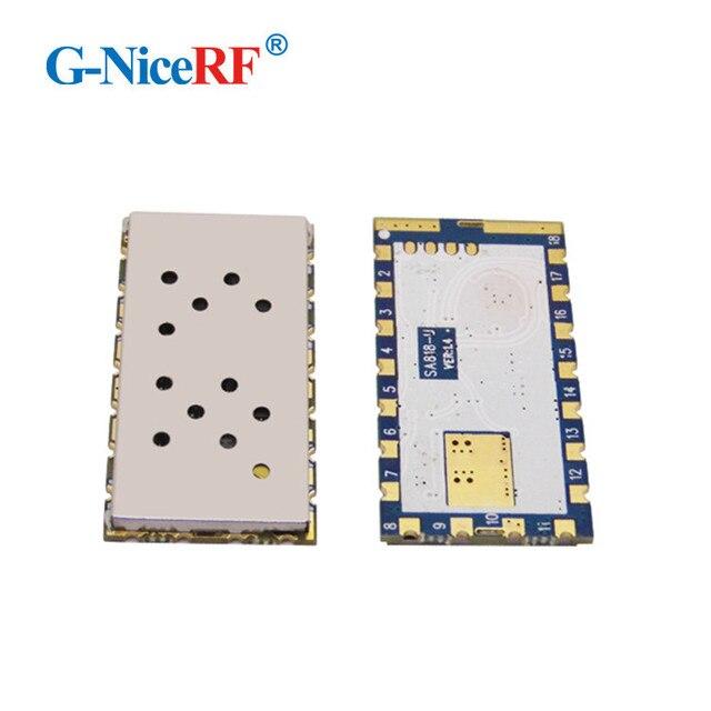 2 יח\חבילה SA818 חדש דור RDA1846S שבב VHF 134 ~ 174 MHz/UHF 400 480 MHz 1 W 30dBm אנלוגי ווקי טוקי מודול