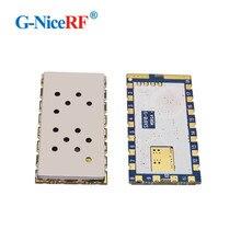 2 pçs/lote SA818 Nova Geração RDA1846S Chip VHF 134 ~ 174 MHz/UHF 400 480 MHz 1 W 30dBm Analogue Módulo Walkie Talkie