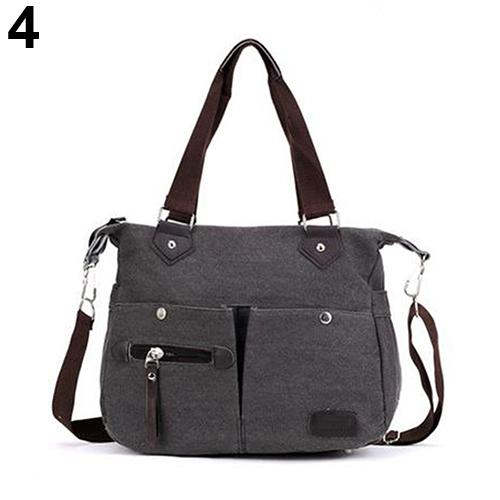 Women Casual Bag Canvas Zipper Shopping Travel Crossbody Bag Shoulder Bag Handbag Women Casual Bag Canvas Zipper Shopping Travel Crossbody Bag Shoulder Bag Handbag