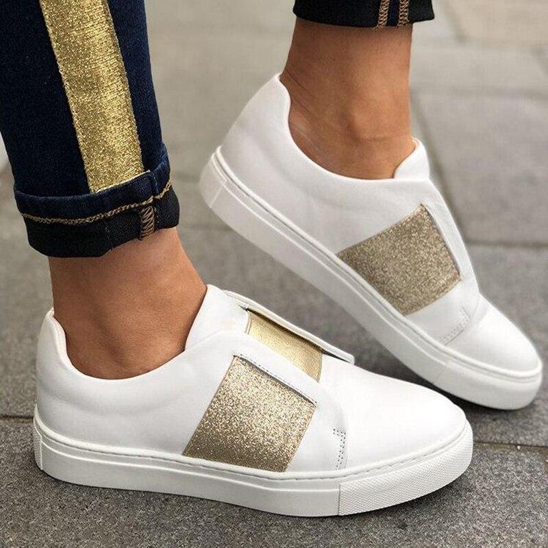 ADISPUTENT Women Sneakers Breathable Mesh Flats Shoes Casual Loafers Shoes Women Boat Shoes Black Comfortable Ballet Shoe Summer