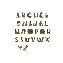 YaMinSanNiO Cat Font Alphabet Metal Cutting Dies for Scrapbooking ABC Letter Die Cut Decorative Craft Paper Card Making DIY