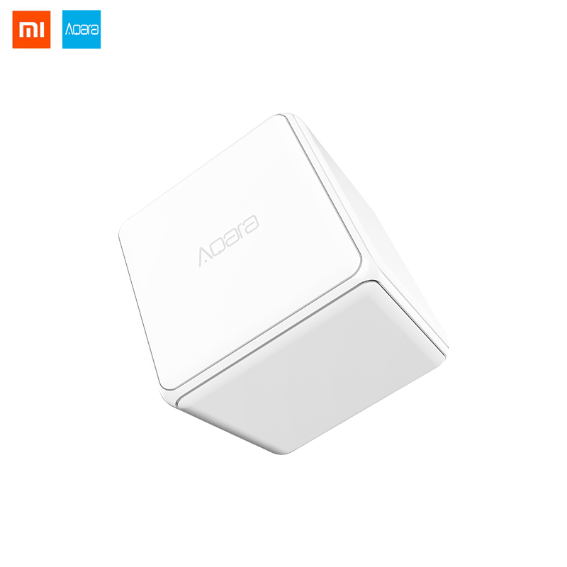 Xiaomi Mijia Aqara Magic Cube Controller Zigbee Version Controlled By Six Actions For Smart Home Device TV Smart Socket