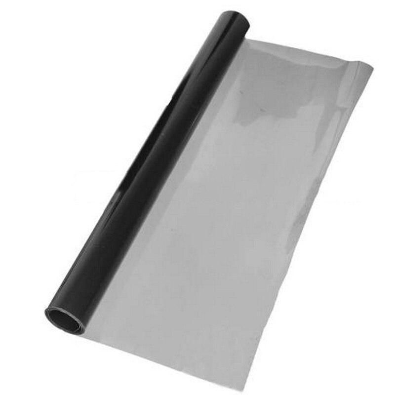 Mayitr 30*120cm Deep Grey Car Headlight Brake Tail Light Tint Vinyl Wrap Film Sheet Car Auto Sticker
