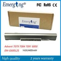 14.8 V 4400 MAH Orijinal Yeni Advent 7079 7084 7091 8000 için Yüksek Kaliteli Laptop Batarya EM-G600L2S
