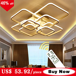 HTB1S6iONHPpK1RjSZFFq6y5PpXap Modern Home LED Ceiling Light For Living room Dining room Kitchen Lustre 6Ring 5Rings Hanging Lamp Ceiling Lamp Lighting Fixture