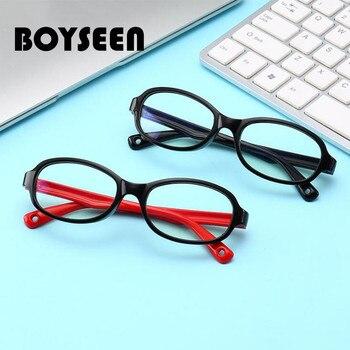 BOYSEEN Boy and girl anti-blue kid Optic...