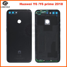 Back Glass Cover for Huawei Y6 prime 2018 Pro Battery Door Housing case Rear Replacement Repair Parts