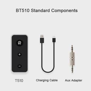 Image 5 - Rovtop Bluetooth 5.0 מקלט לרכב מוסיקת סטריאו 3.5mm AUX אודיו אלחוטי דיבורית מתאם עבור אוזניות רמקול עם מיקרופון z2