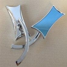 Motorcycle accessories 4-Point Micro Chrome Mirrors For Suzuki Honda Kawasaki Victory Harley Davidson