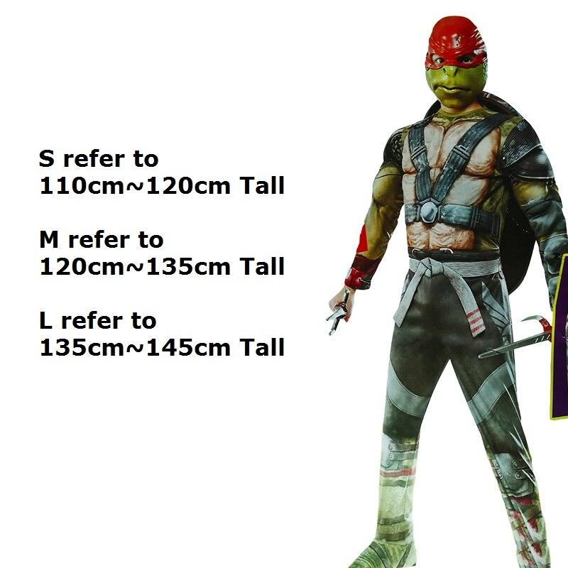 Anime Cosplay pour Teenage Mutant Ninja Turtles Salopette sans masque Robes Bébé Barboteuses Costume pour Enfants Halloween Party - 5
