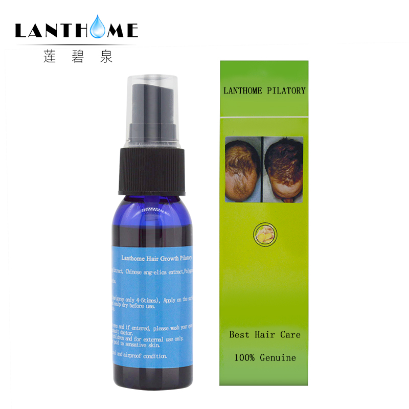 3PC Lanthome Fast Hair Growth Essence Dense Hair Root Regrowth Treatment Facial Hair Men Gromming Growth Spray For Men And Women 1