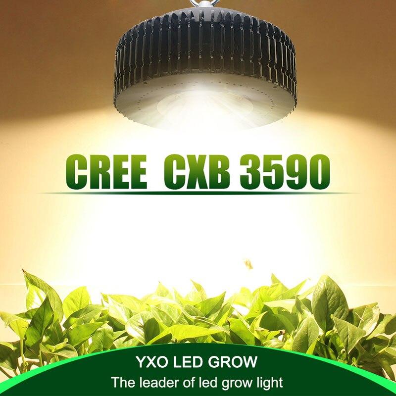 CREE CXB3590 100 w COB CONDUIT Grandir Lumière Spectre Complet Samsung LM561C S6 LED Lampe DE Croissance Pour La Croissance Des Plantes D'intérieur éclairage