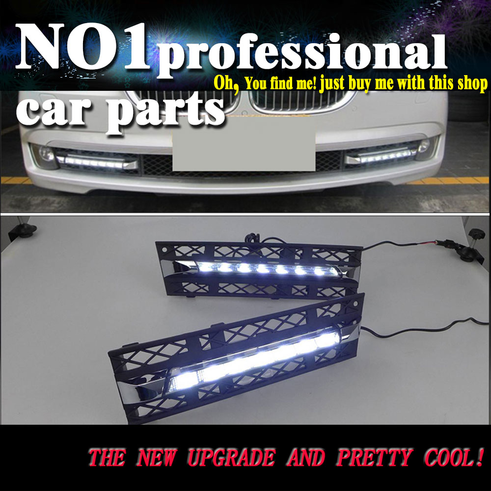 car styling For BMW F01 F02 7 Series 730i 740i 750i LED DRL led fog lamps daytime running light High brightness guide LED DRL в гомеле bmw 750i е38