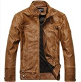 Motorcycle Leather Jackets Men Autumn Winter Leather Clothing Men Leather Jackets Male Business casual Coats New vestidos