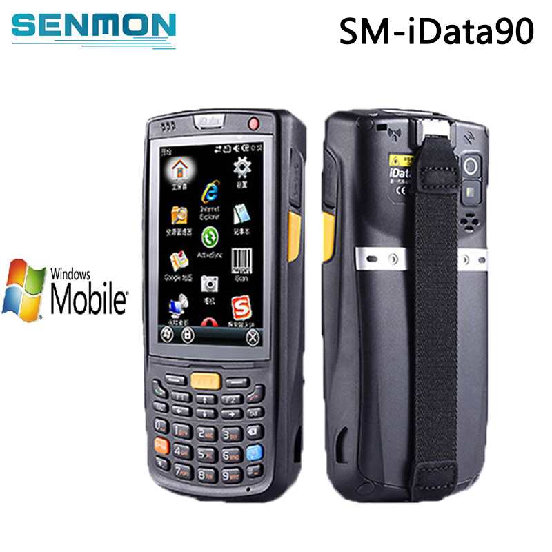 Omnidirectional 2D Barcode Scanner Module Industrial Windows Mobile Handheld PDA Data Terminal with Wifi