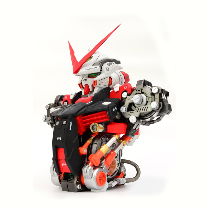 Anime model Assembled Head model 1/35 Astray Red Frame Gundam MBF-P02 Robot brinquedos Puzzle Action Figures hot kids toy gift 2