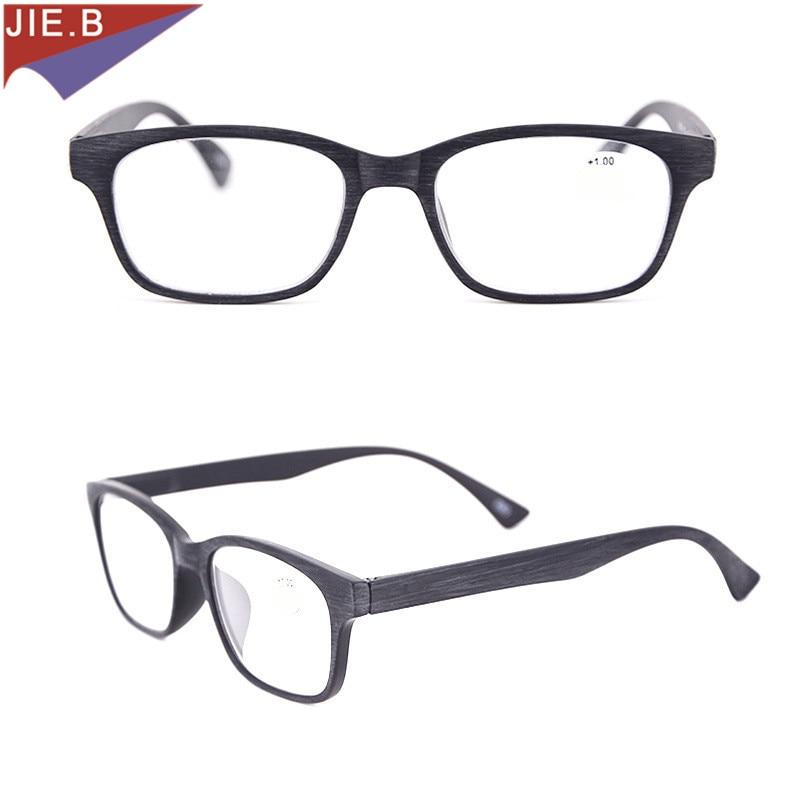 Lesebrillen GroßZüGig 2018 Mode Holzmaserung Lesebrille Männer Frauen Brillen Vollformat Presbyopie Brille 1,0 1,5 2,0 2,5 3,0 3,5 Damenbrillen