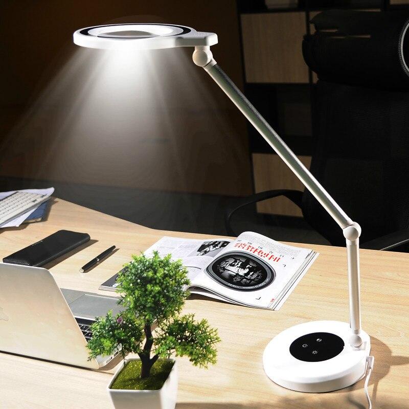 Artpad Moda Smart Design 88 PZ LED Perline Lampada Da Tavolo 1000 LM Touch  Dimmer Protezione Degli Occhi Lampada Da Lavoro D ufficio Per Illuminazione  ... 6822d2a0431