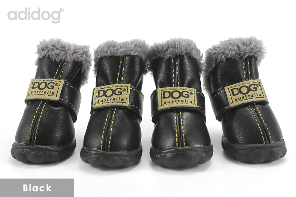 Pet Dog Shoes Winter Super Warm 4pcs set Dogs Boots Cotton Anti Slip XS 2XL Shoes for Small Pet Product ChiHuaHua Waterproof 403