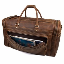 J.M.D New Product Excellent Crazy Horse Leather Travel Handbags Big Capacity Fashional Duffel For Men 7317LR/-1