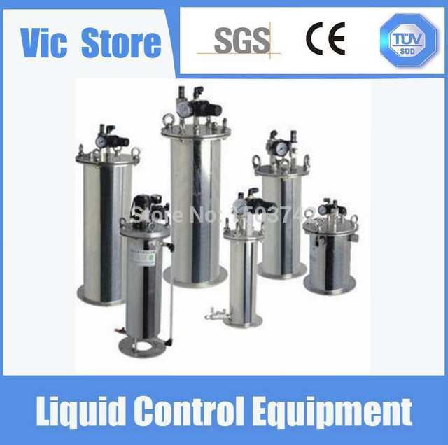 Free Shipping Glue Dispensing Stainless Steel Pneumatic Pressure Tank With Factory Price