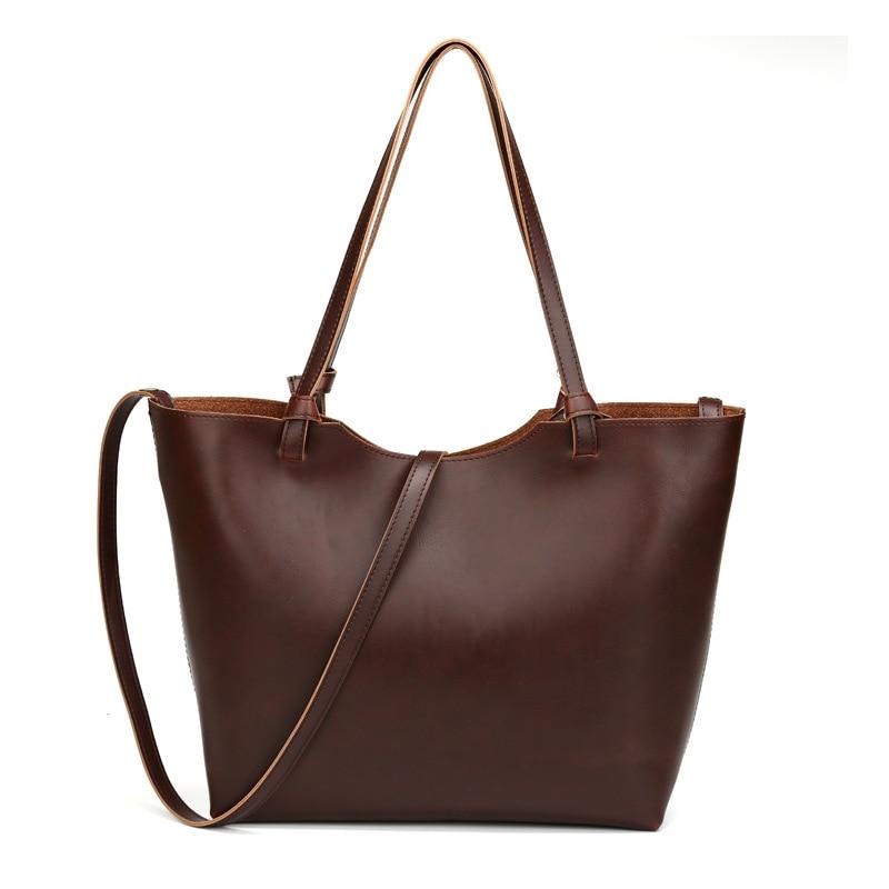 Progettista di marca 2016 delle Nuove donne Messenger Borse Crossbody Bag Donna  Borse Vintage Sacchetti di Spalla Delle Signore Del Cuoio Genuino a39b9b26f35