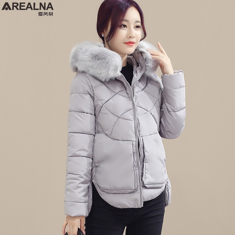 winter jacket women coats big fur collar down wadded jacket female cotton-padded jackets thicken winter coat women parka mujer winter jacket women coats big fur collar down wadded jacket female cotton padded jackets thicken winter coat women parka mujer